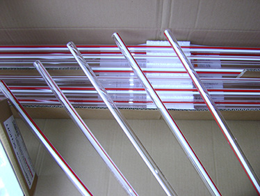 Red Line Tubular Gauge Glass