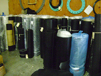 Sheet Rubber Inventory